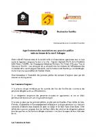 Appel commun des associations suite au drame de la rue d'Aubagne