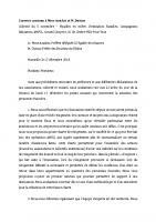 courrier Assidon Dutour 20181217