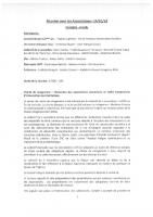 compte rendu de la mairie de Marseille réunion du 14/01/2019