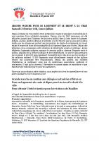 communiqué de presse pour l'appel à la grande marche du 02/02/2019 – collectif du 5 novembre.org