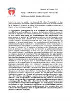 compte rendu de la rencontre avec M.Denormandie le 22.01.19- collectif du 5 novembre