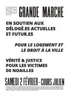 affiche 2 grande marche act 2 du 02/02/2019