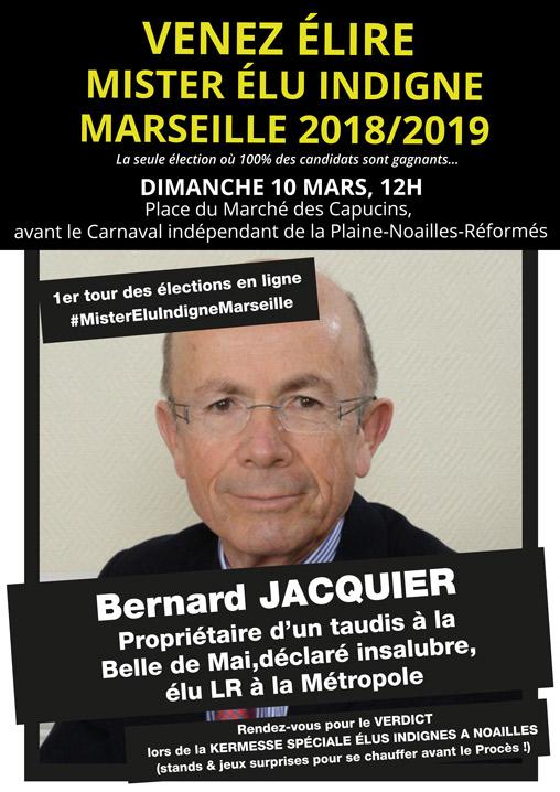Jacquier Mister Elu Indigne