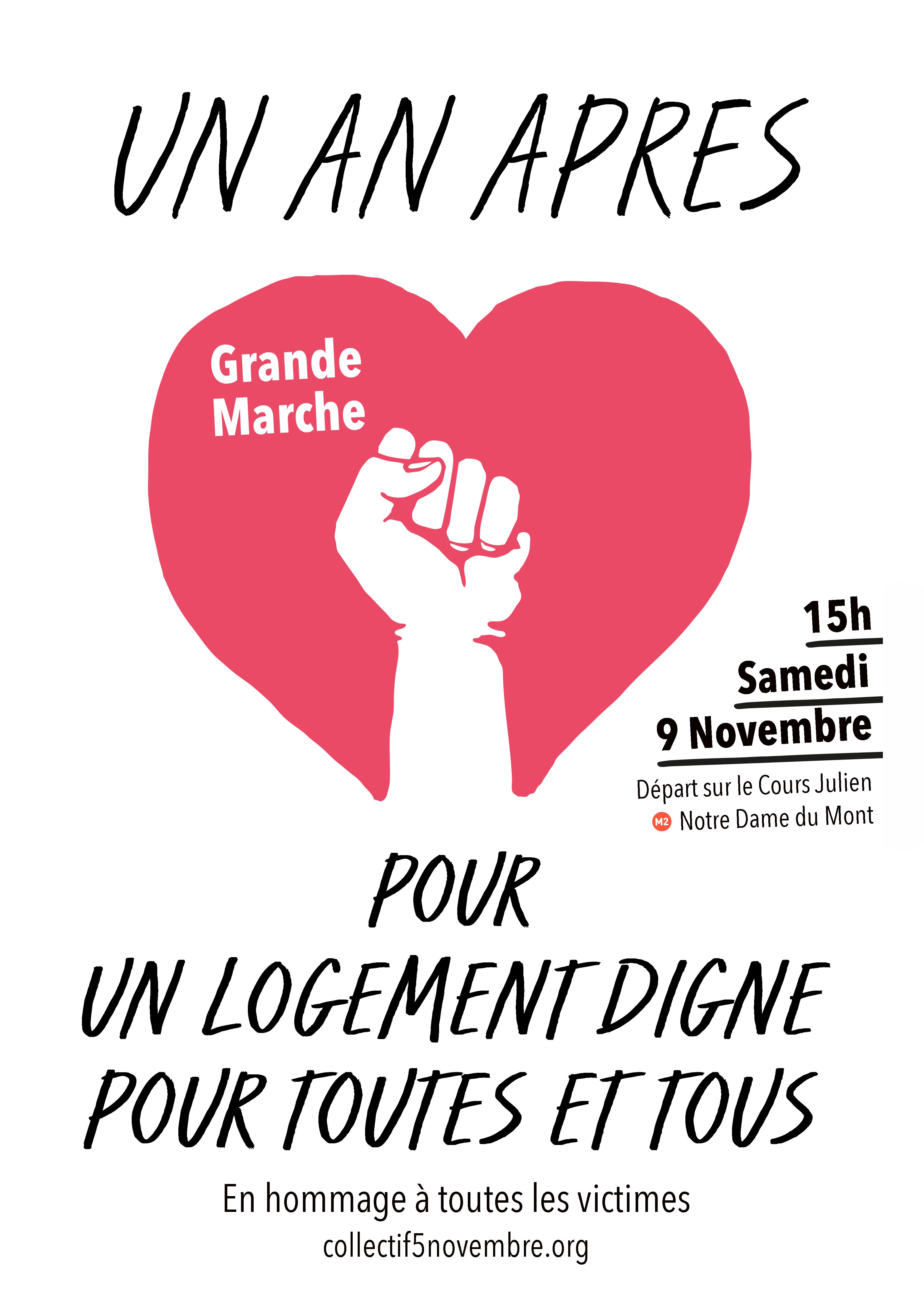 Grande Marche UN AN APRES 9 nov 19