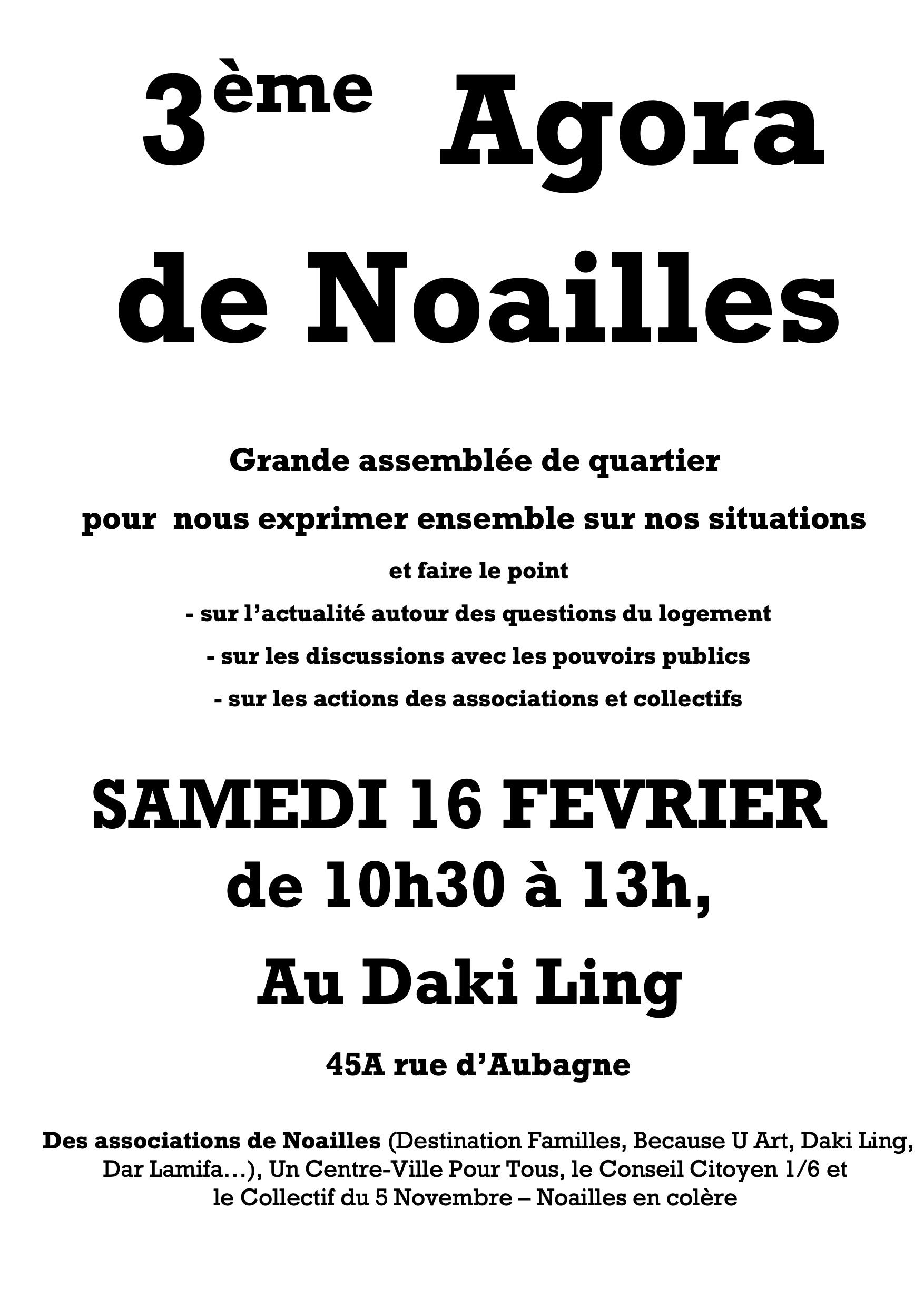 3e agora Noailles 16 février 2019