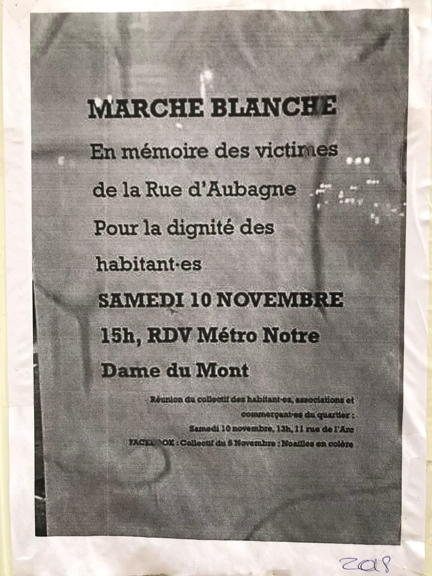 Marche Blanche 10 nov 18