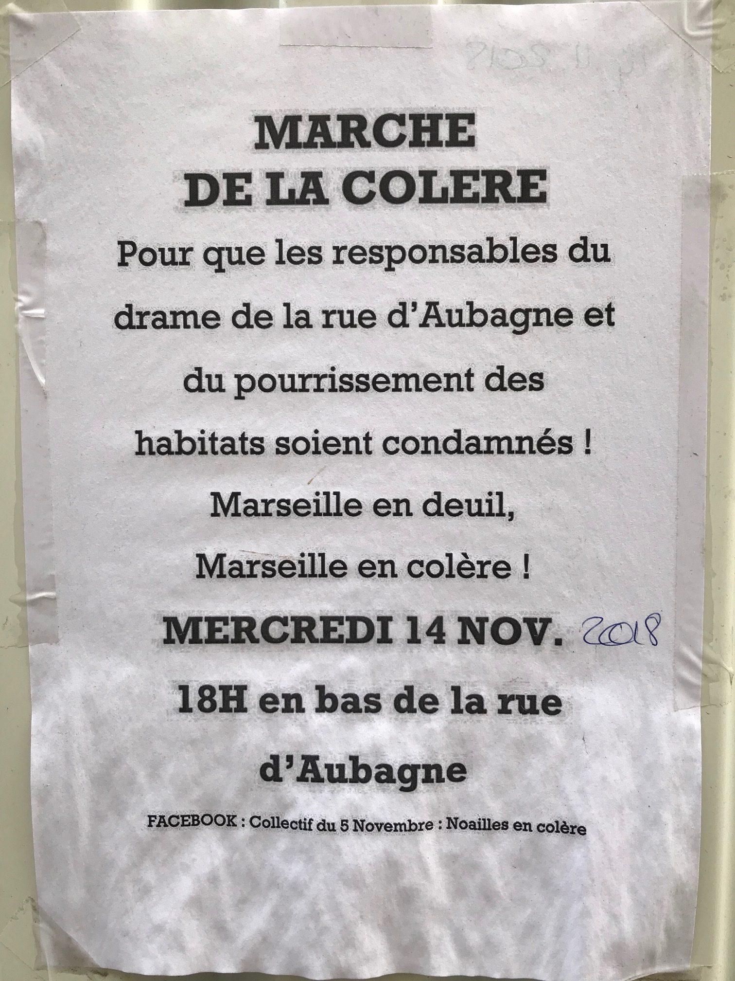 Marche de la Colère 14 nov 18