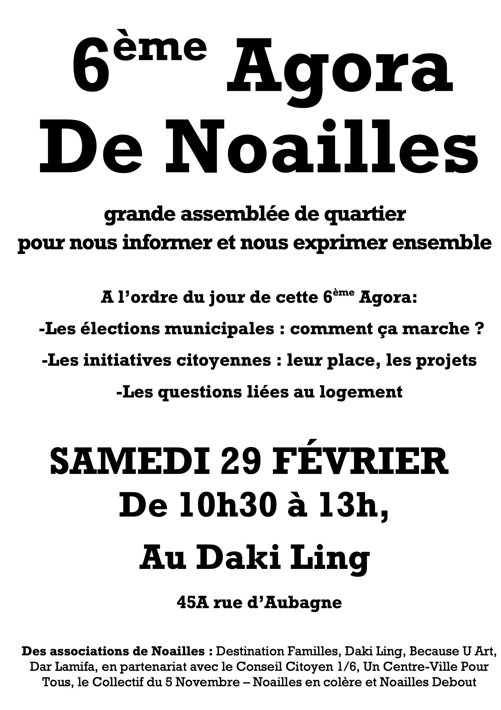 6e agora de Noailles